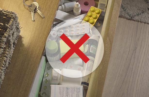 Caixa dos medicamentos