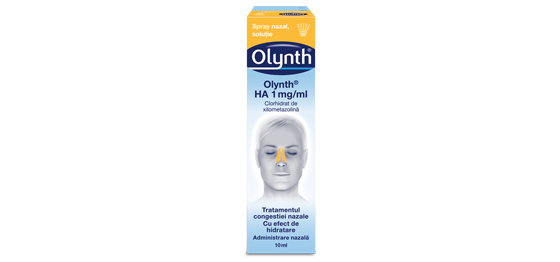 Olynth<sup>®</sup> HA 1mg/ml Spray Nazal Soluţie